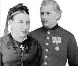 Anna Elisabeth Eisenhardt und Carl Louis Oertel