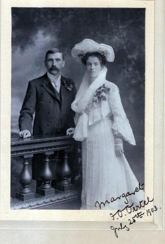 F. O. Oertel u Margaret H. Lechmere 1903