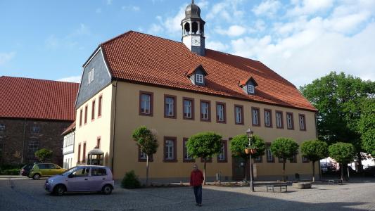Rathaus Heringen Helme