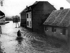 Unwetter in Kirdorf 1931