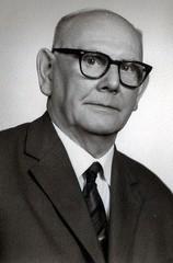 August Henzel um 1955