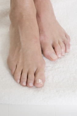 Richtige Fußpflege